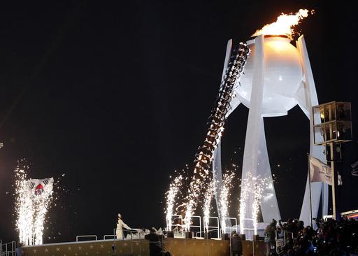 Pyeongchang Olympics Opening Ceremony_542311