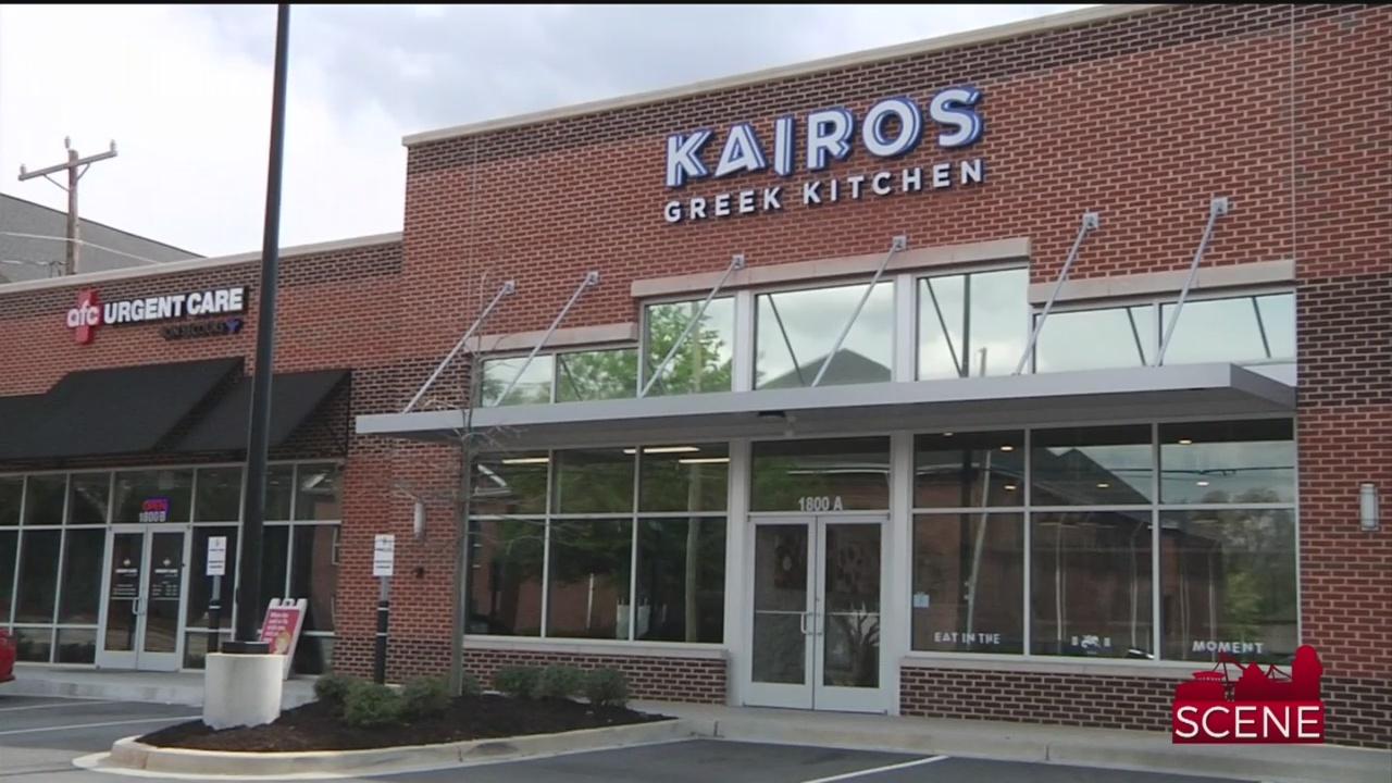 Kairos Greek Kitchen Opens in Greenville