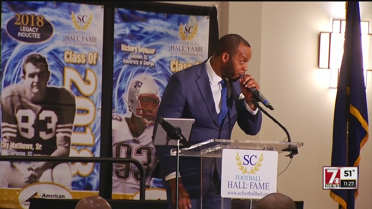 S.C. Football Hall Of Fame Inducts 2018 Class