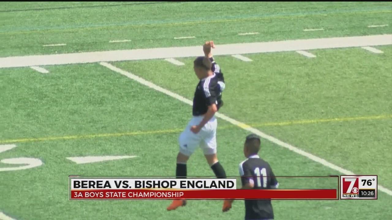 Berea Boys & J.L. Mann Girls Wins Soccer State Titles