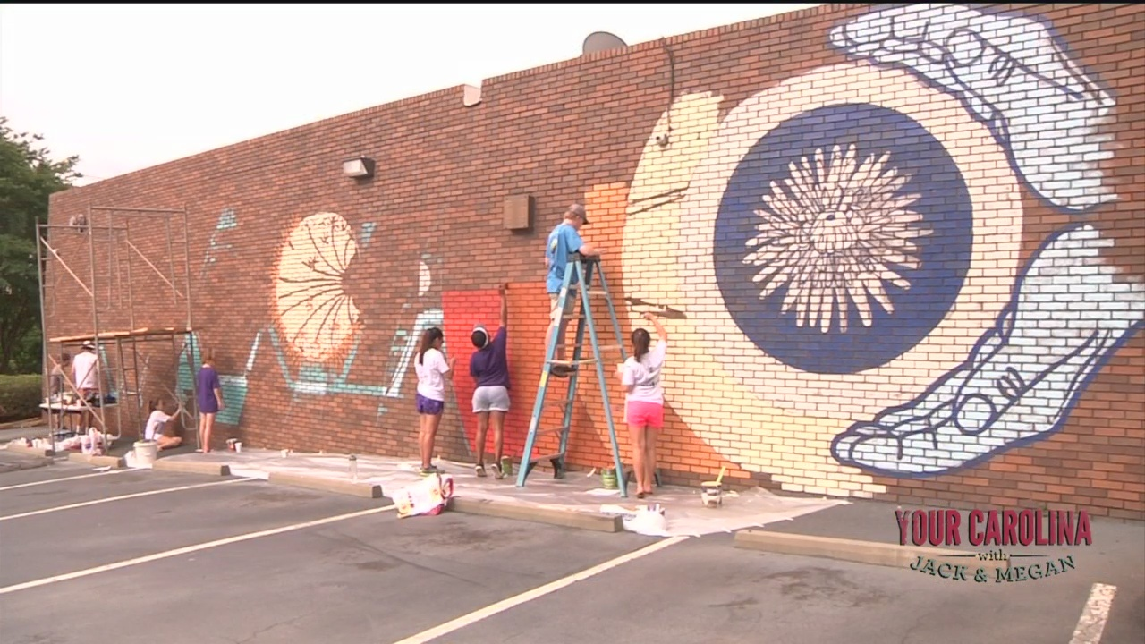 Stone Academy and Upstate Artists Collaborate on Mural Project