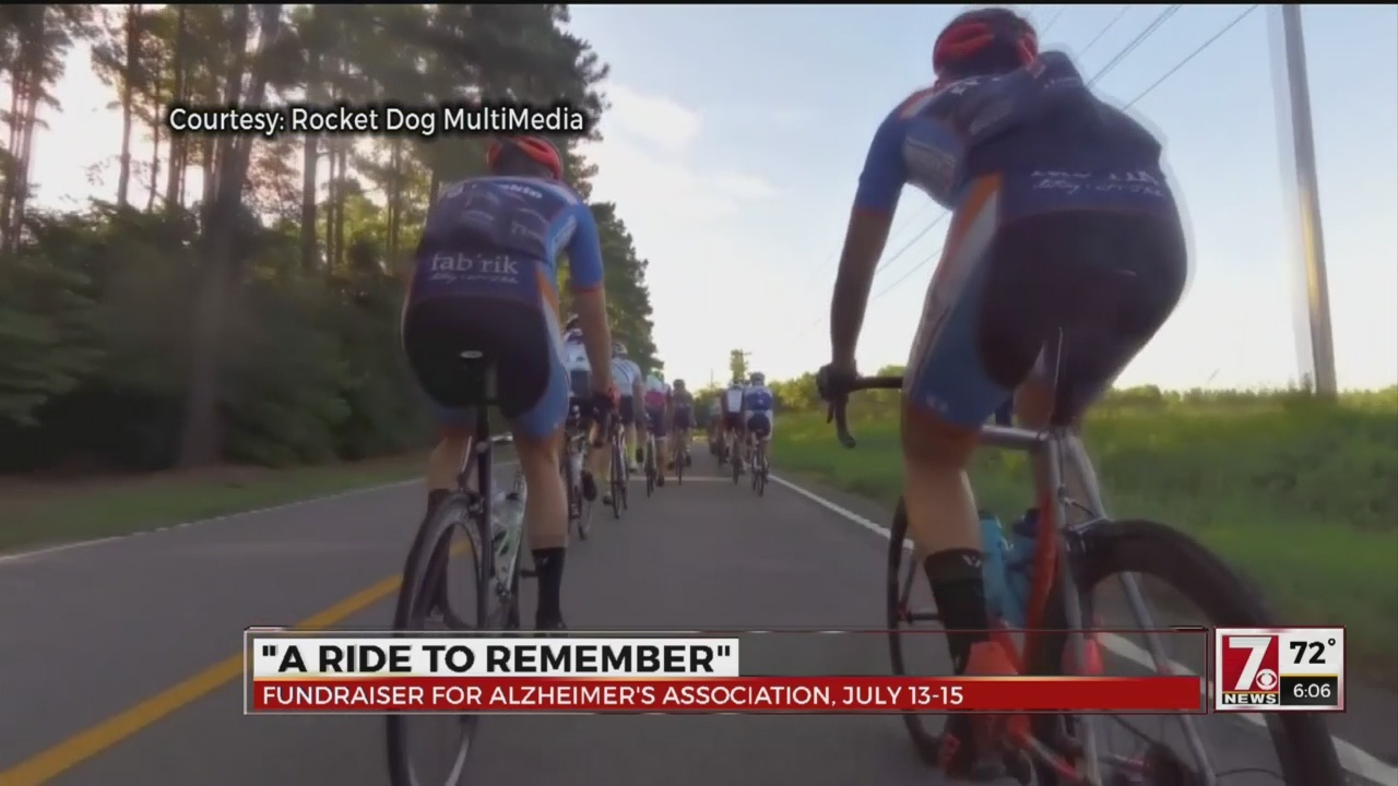 3-day bike ride for Alzheimer's Association asking for cyclists