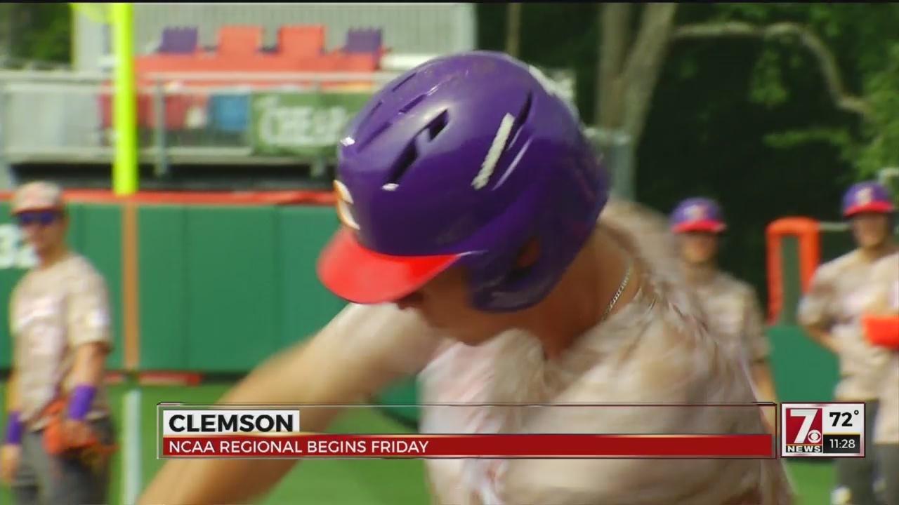 Clemson Prepares For Regional