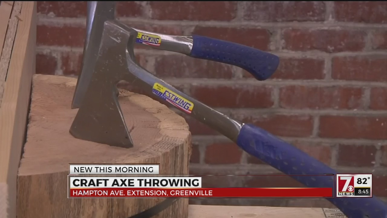 Craft Axe Throwing Now Starting Competitive League