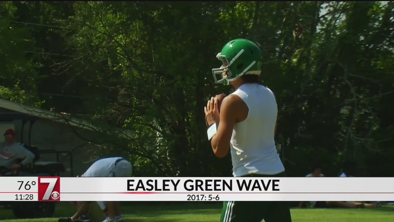 High School Red Zone: Easley Green Wave