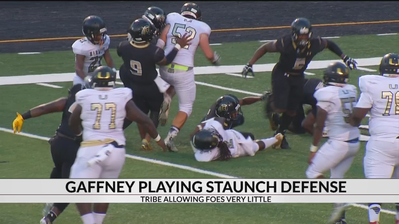 Gaffney's Defense Has Been Dominant