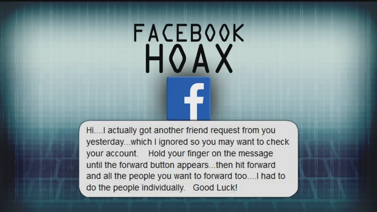 Facebook cloning hoax spreads