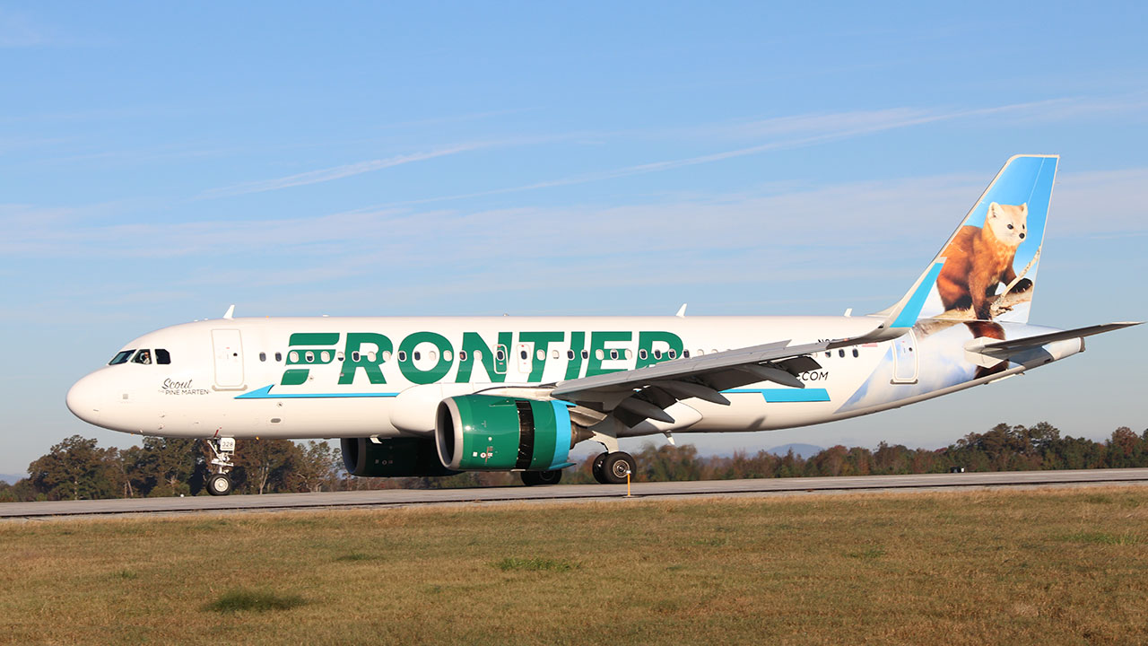 frontier airlines gsp airport