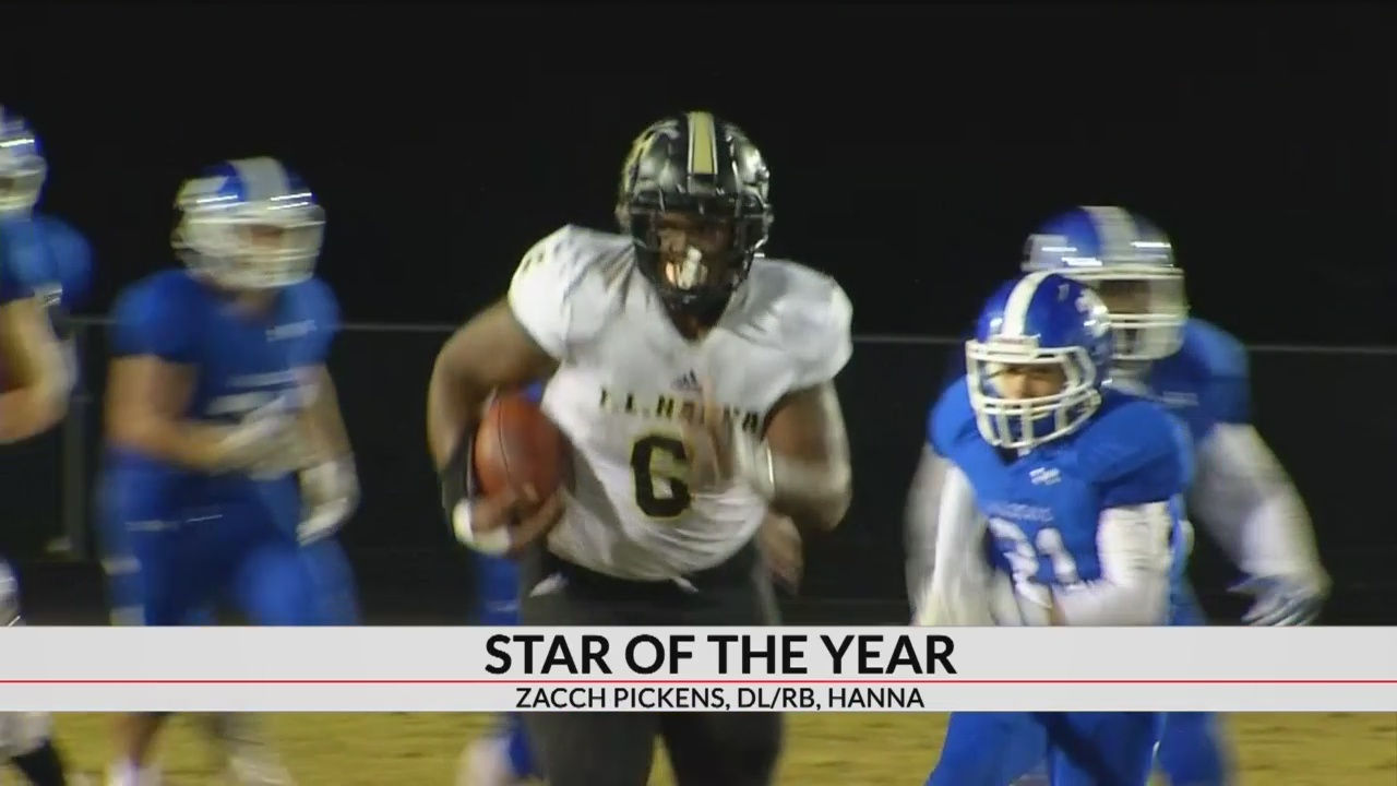 Star Of The Year: Zacch Pickens, T.L. Hanna