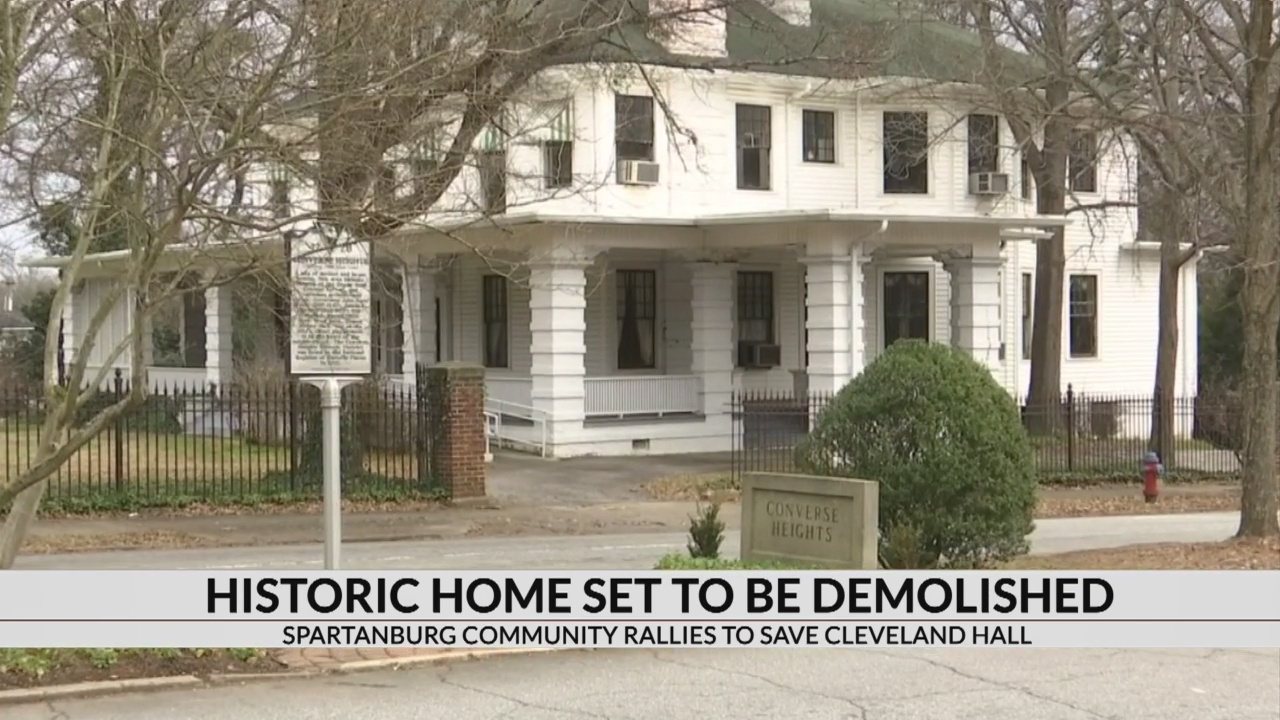 Historic Spartanburg home set for demolition as neighborhood tries to save it