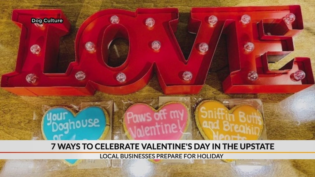 7 ways to celebrate Valentine's Day in the Carolinas