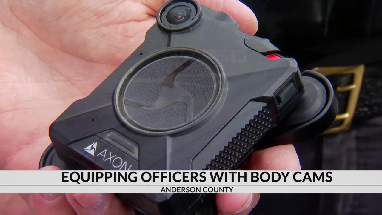 Anderson Co. Sheriff's Office testing body cameras to equip agency