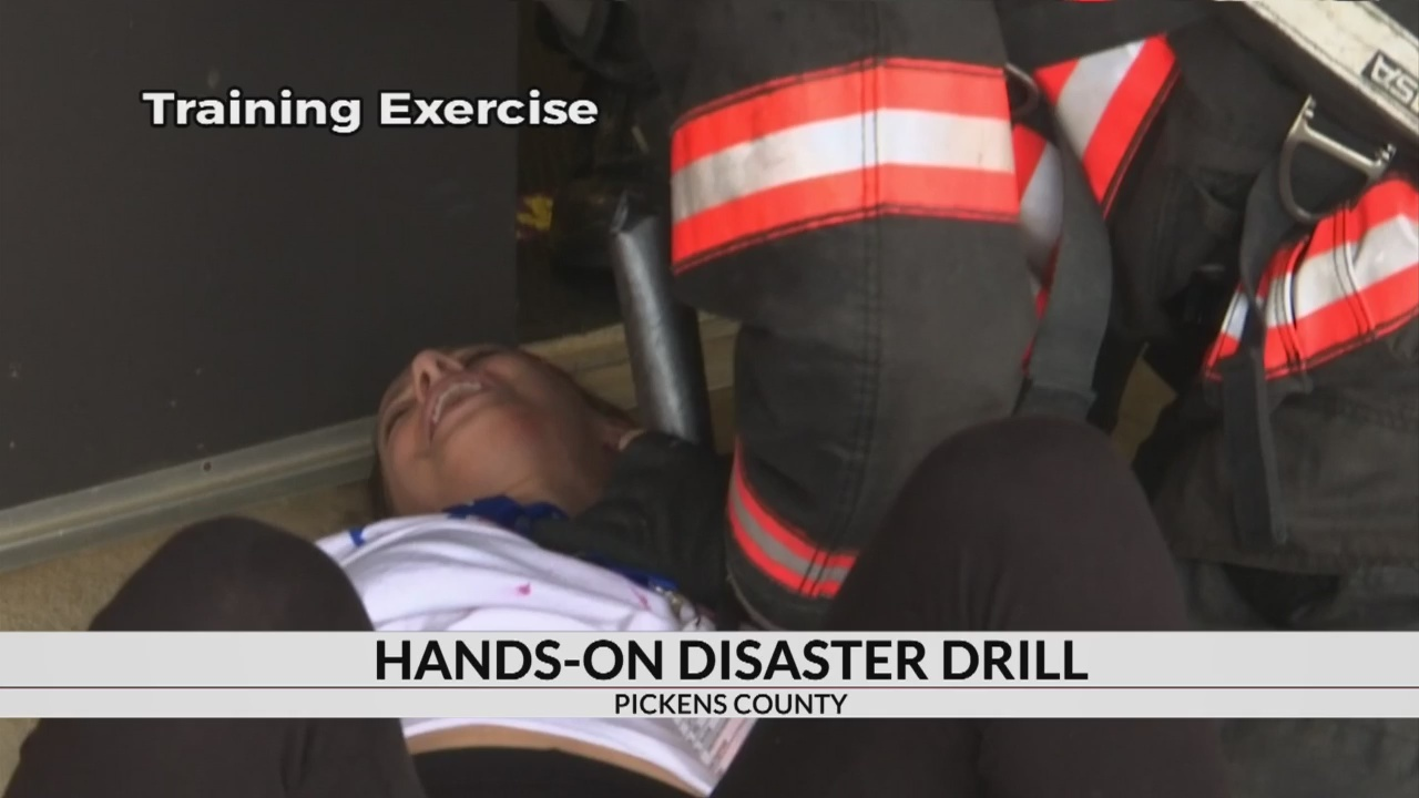 PIckens Co. prepares for severe weather with hands-on disaster drill