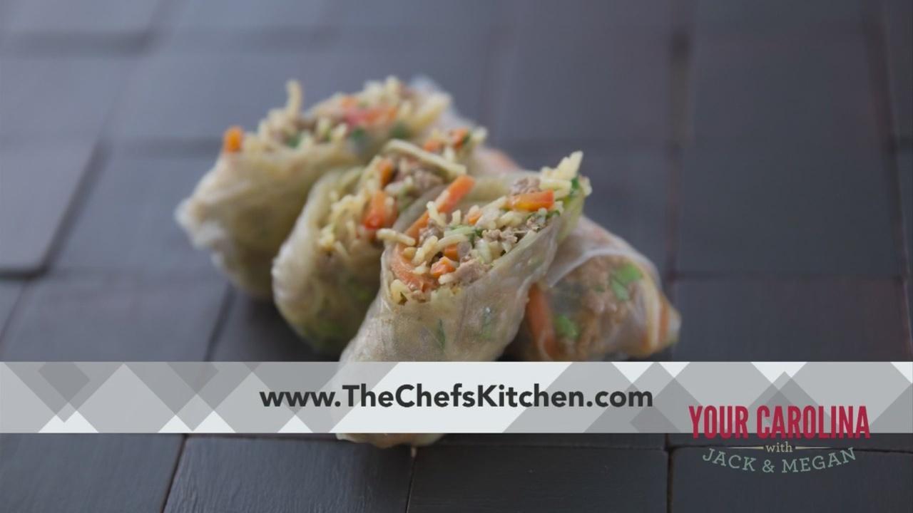 Chef's Kitchen - Fresh Lamb Spring Rolls