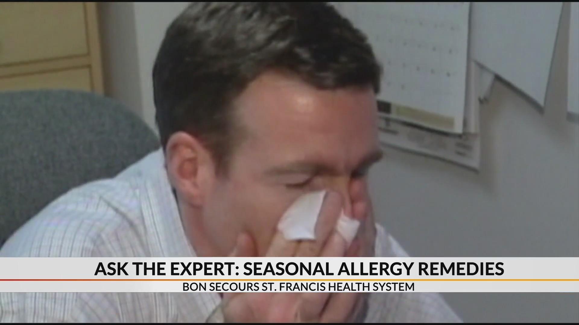 Foods and practices to help curb seasonal allergies