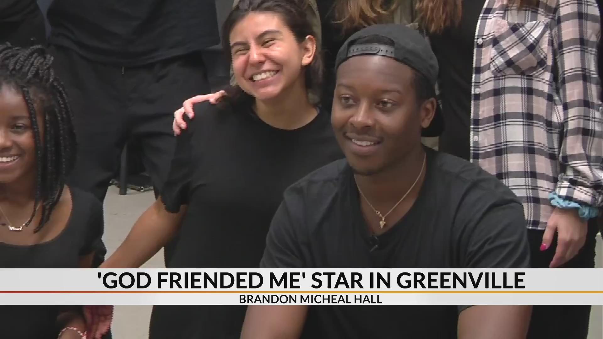 'God Friended Me' star inspires Greenville students
