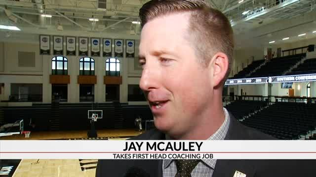 McAuley Introduced As Wofford Head Coach