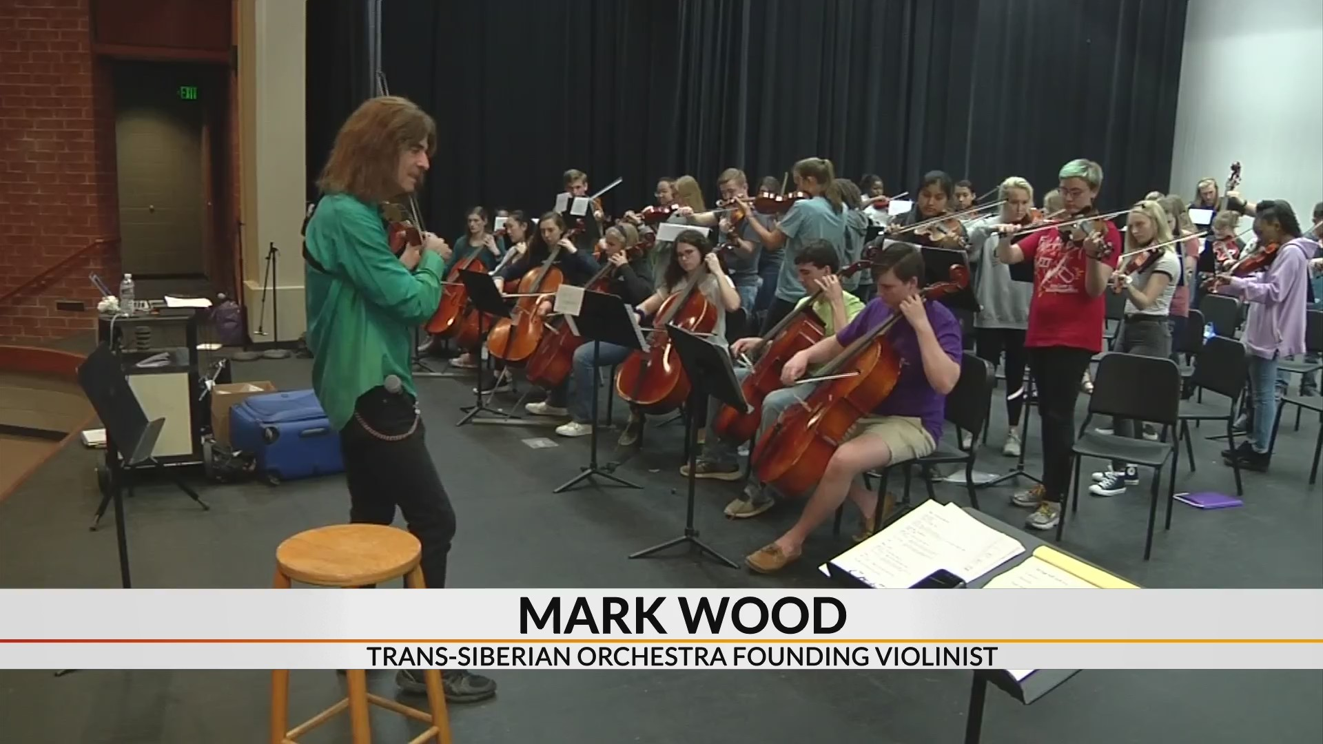 Original Trans-Siberian Orchestra member mentors local students