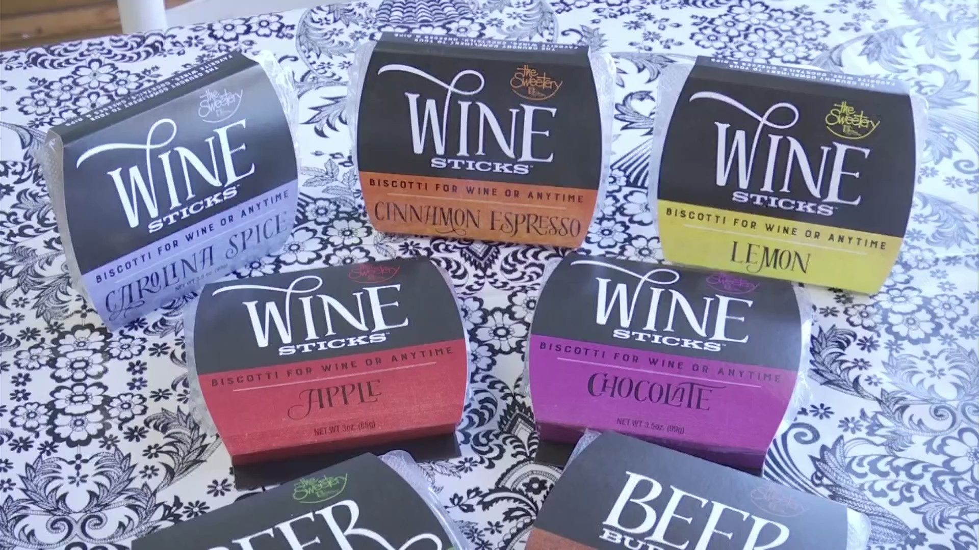 Anderson bakery bringing snack size wine sticks to NYC trade show