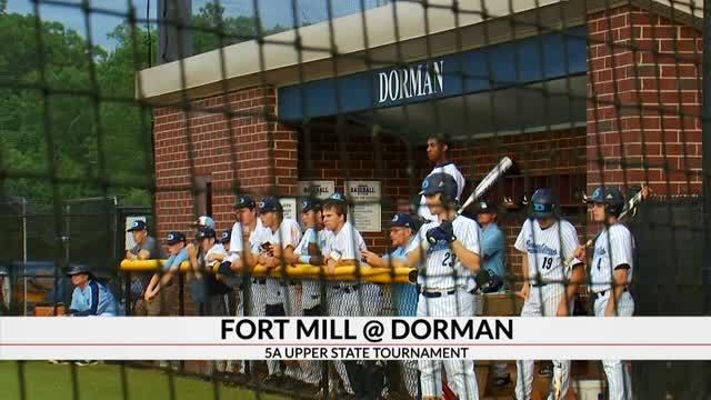Baseball Playoffs: Dorman Falls to Fort Mill; Crescent Defeats Union County; Blacksburg Tops Abbeville