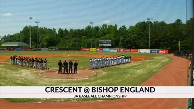 Bishop England Rallies in the 7th to Defeat Crescent to Win 3A Baseball State Title, 4-3