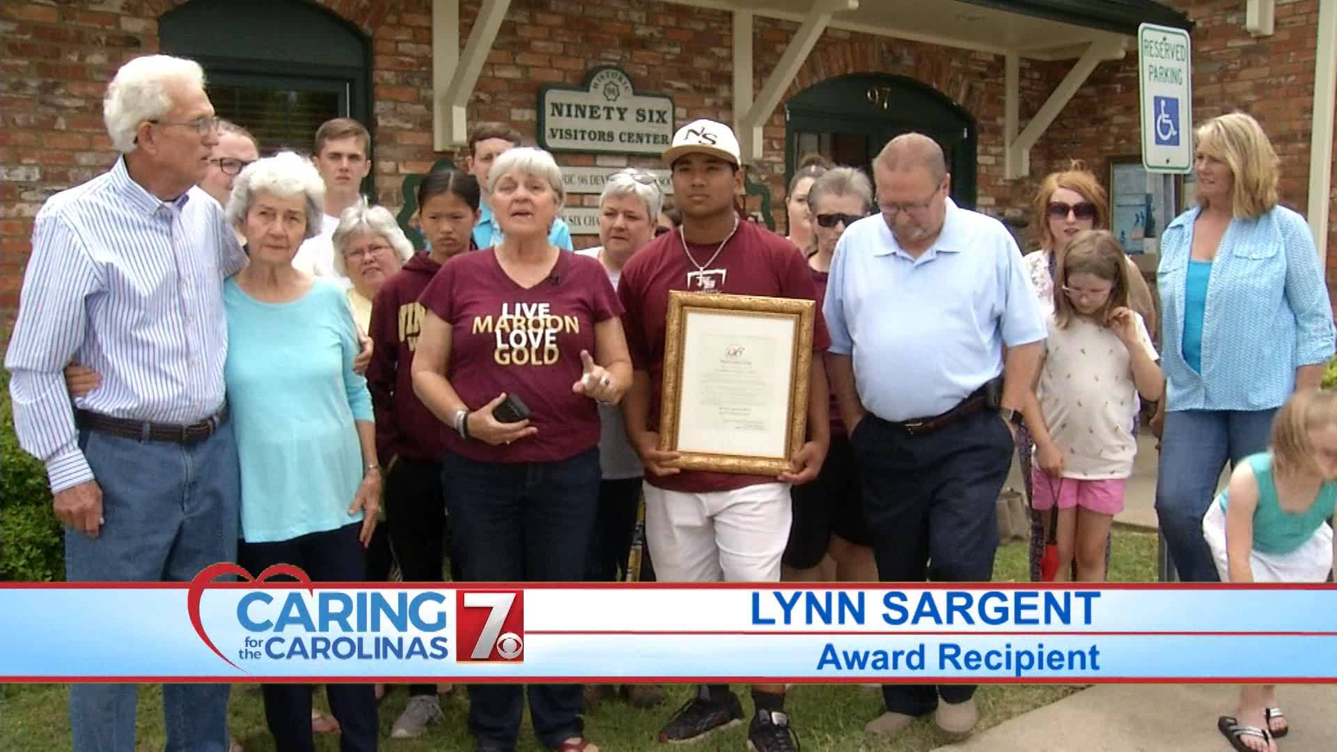 May 2019 Caring for the Carolinas Award Winner