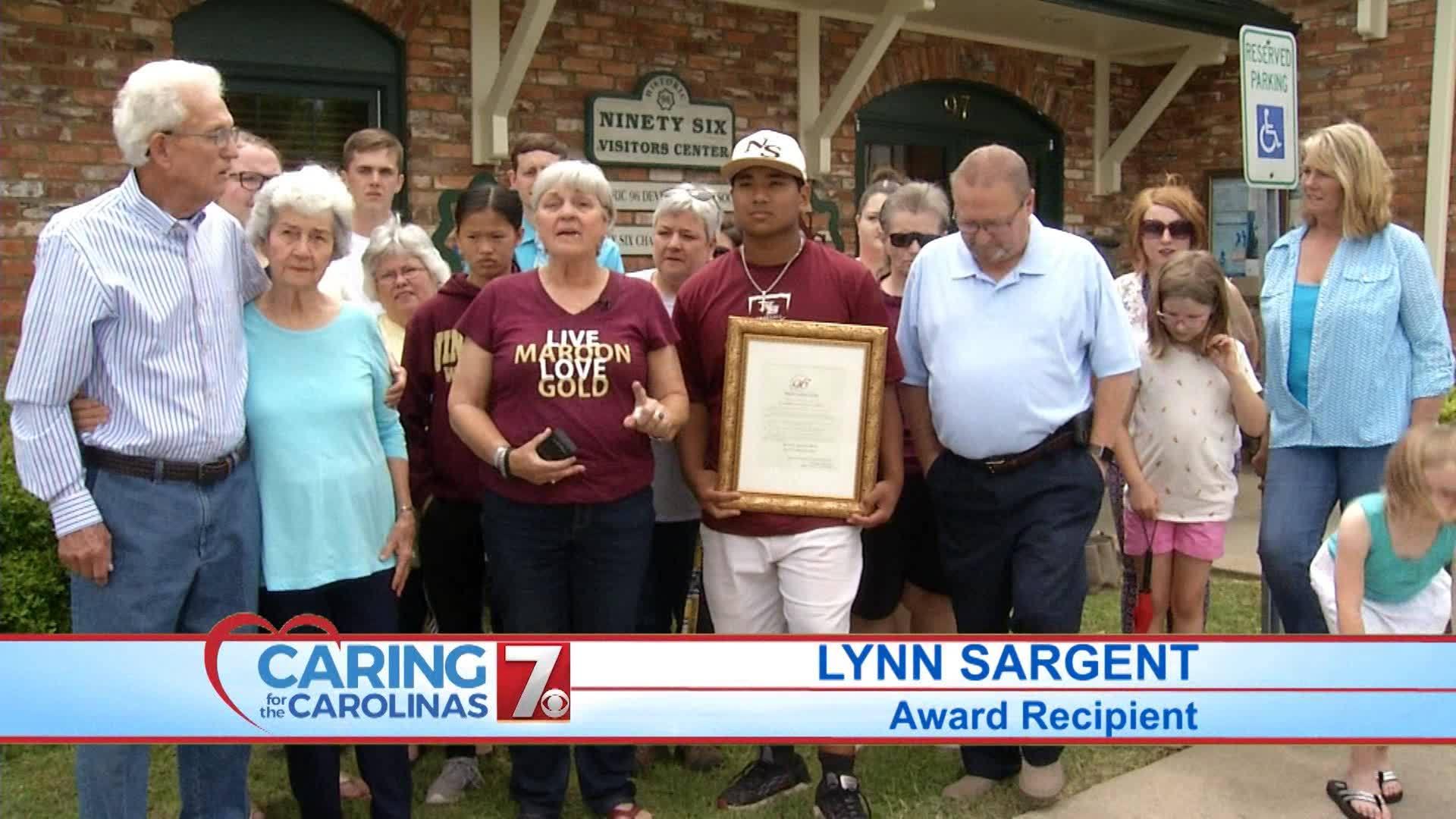 May 2019 Caring for the Carolinas Award Winner