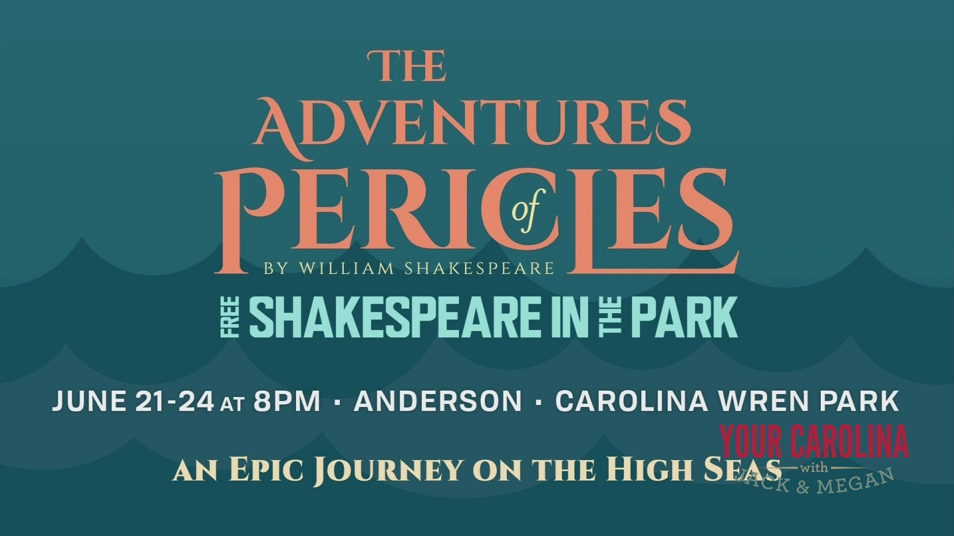 Anderson's fifth annual Free Shakespeare in the Park