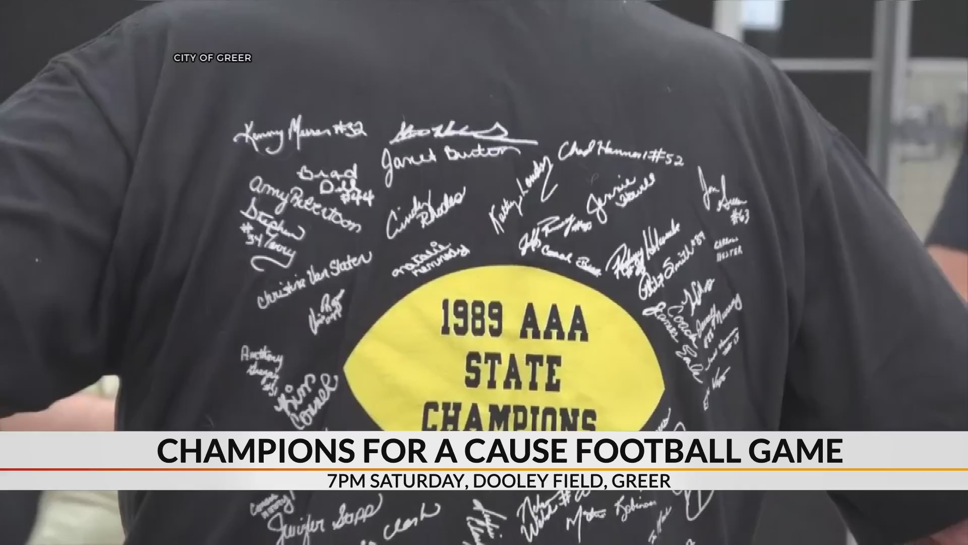 1ac65bf31 Football game to help Greer coach, firefighter battling illnesses