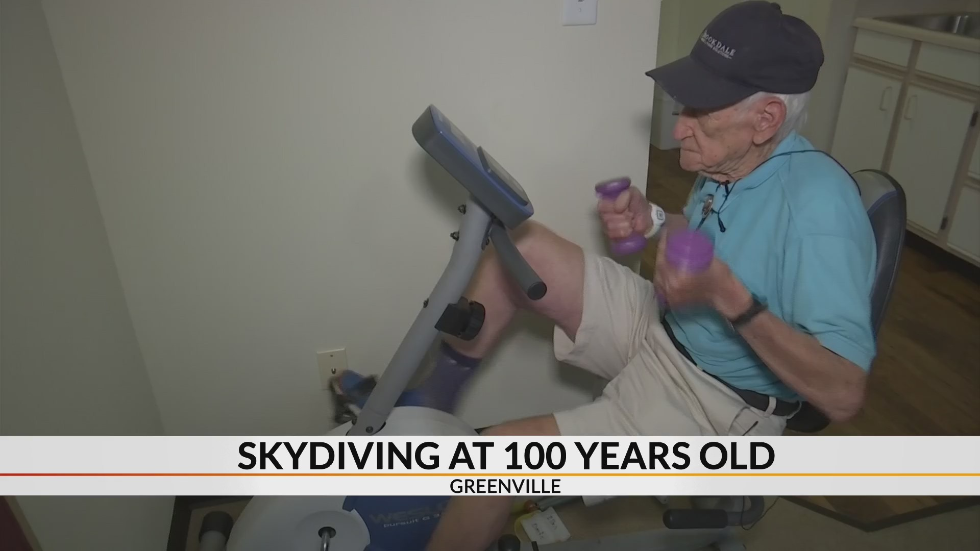 Greenville man plans to skydive for 100th birthday