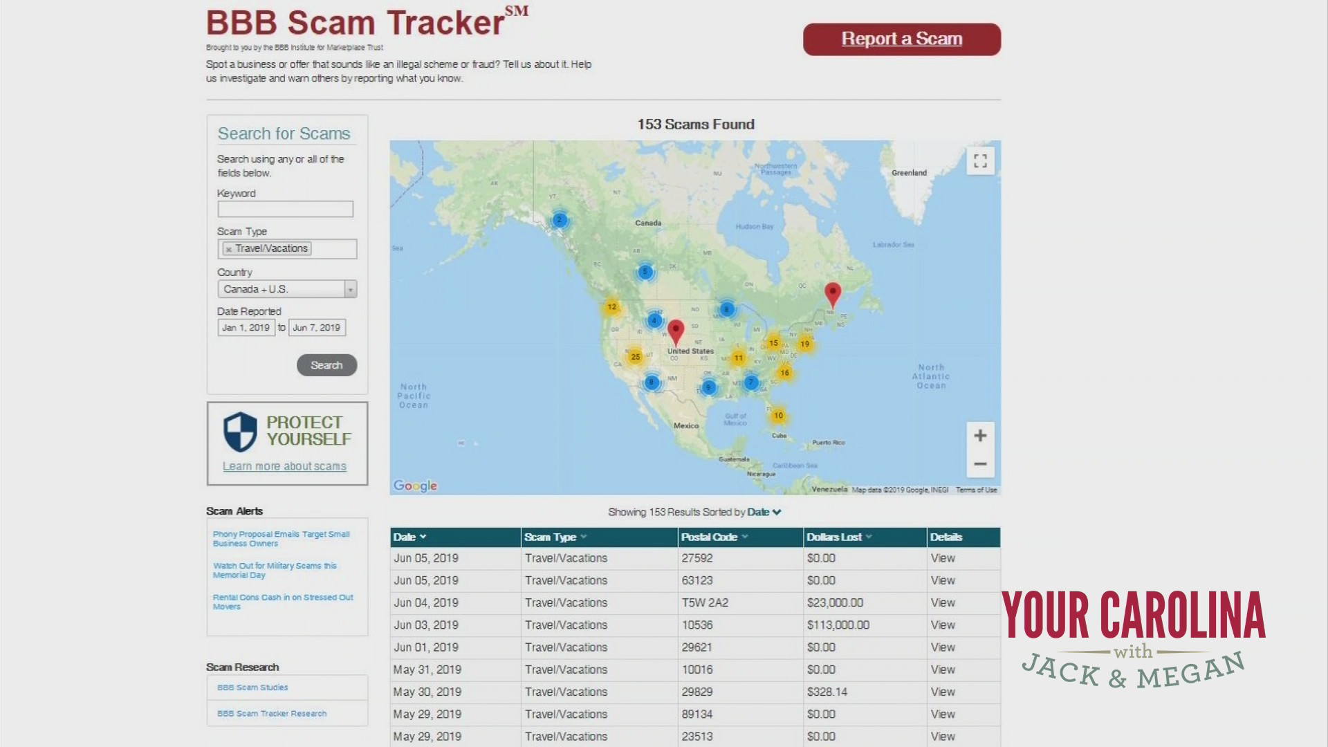 Travel and Vacation Scams