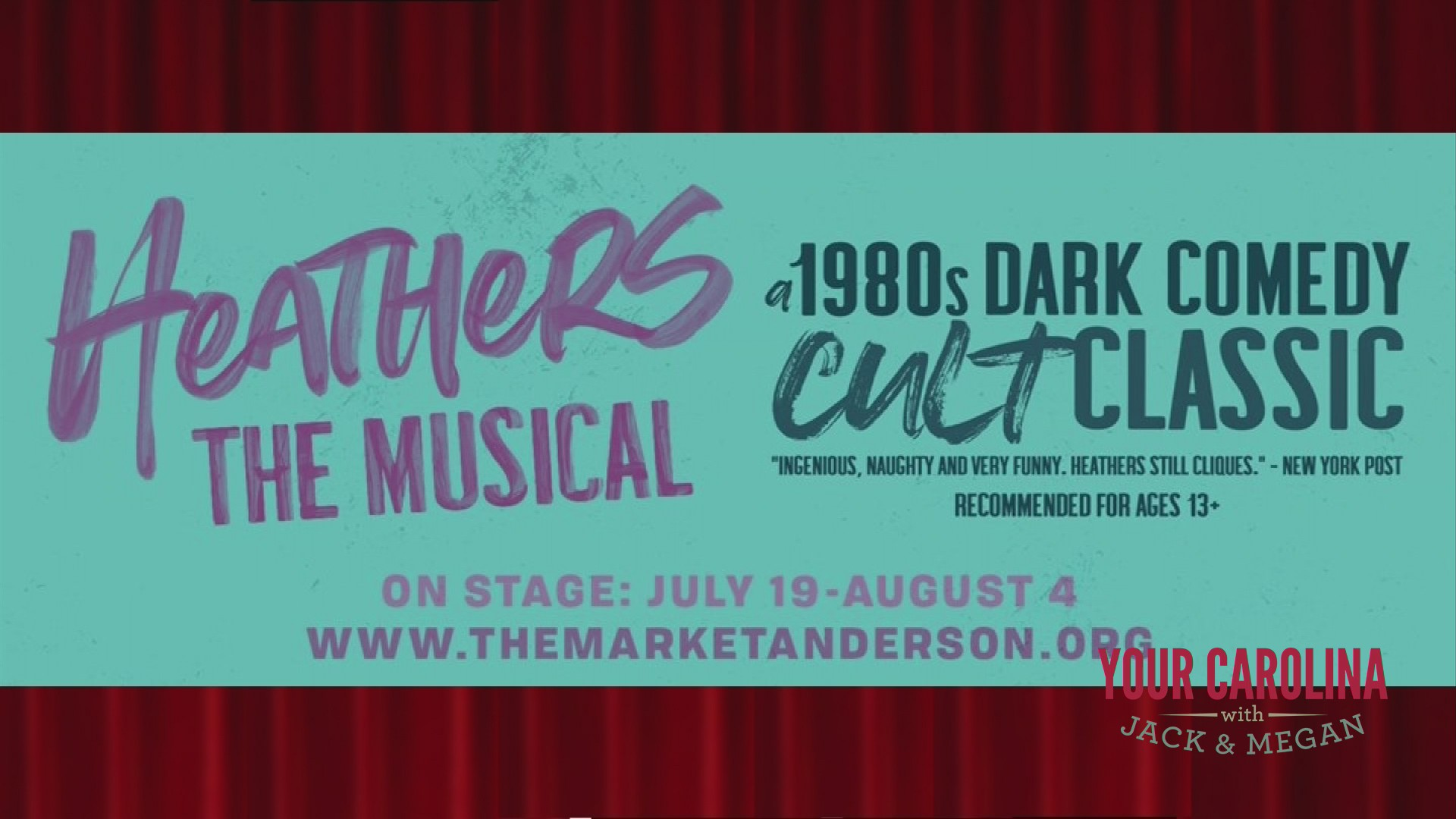 The Market Theatre Company Presents HEATHERS:THE MUSICAL