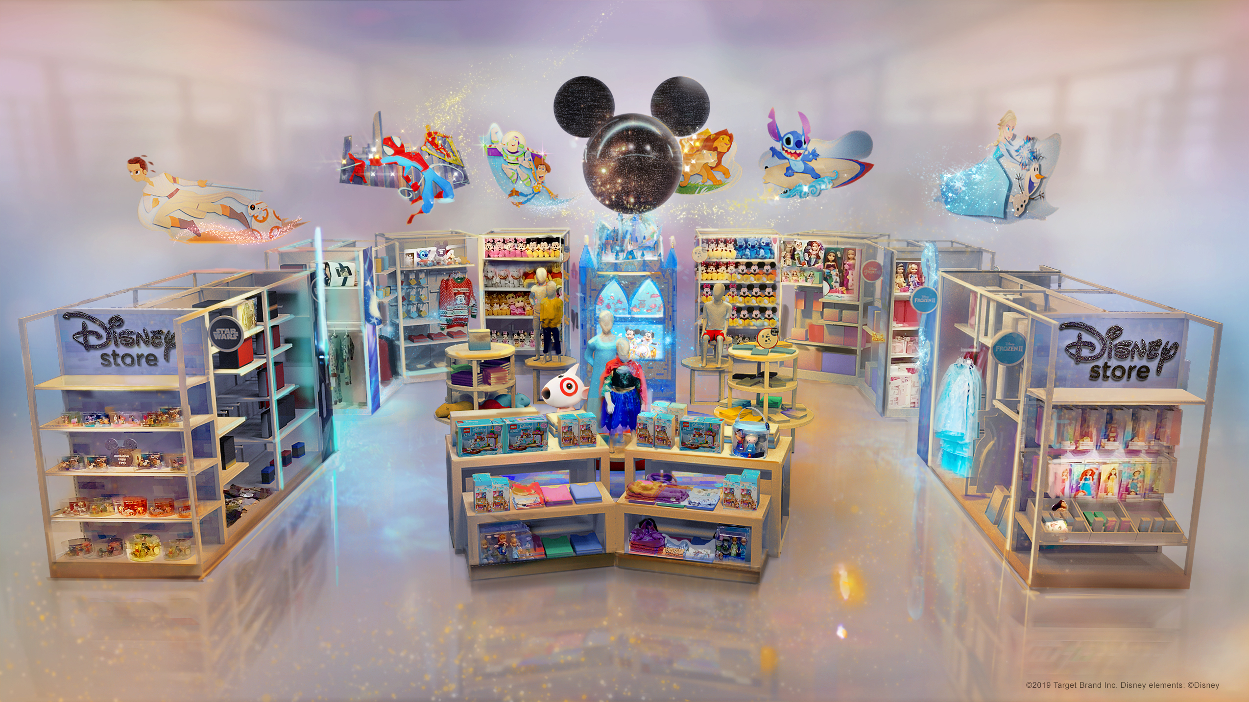 best sneakers bd65a 70b4b Target teams up with Disney to open shops