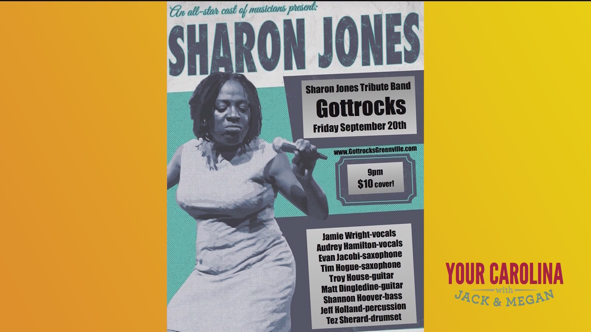 Sharon Jones Tribute Concert