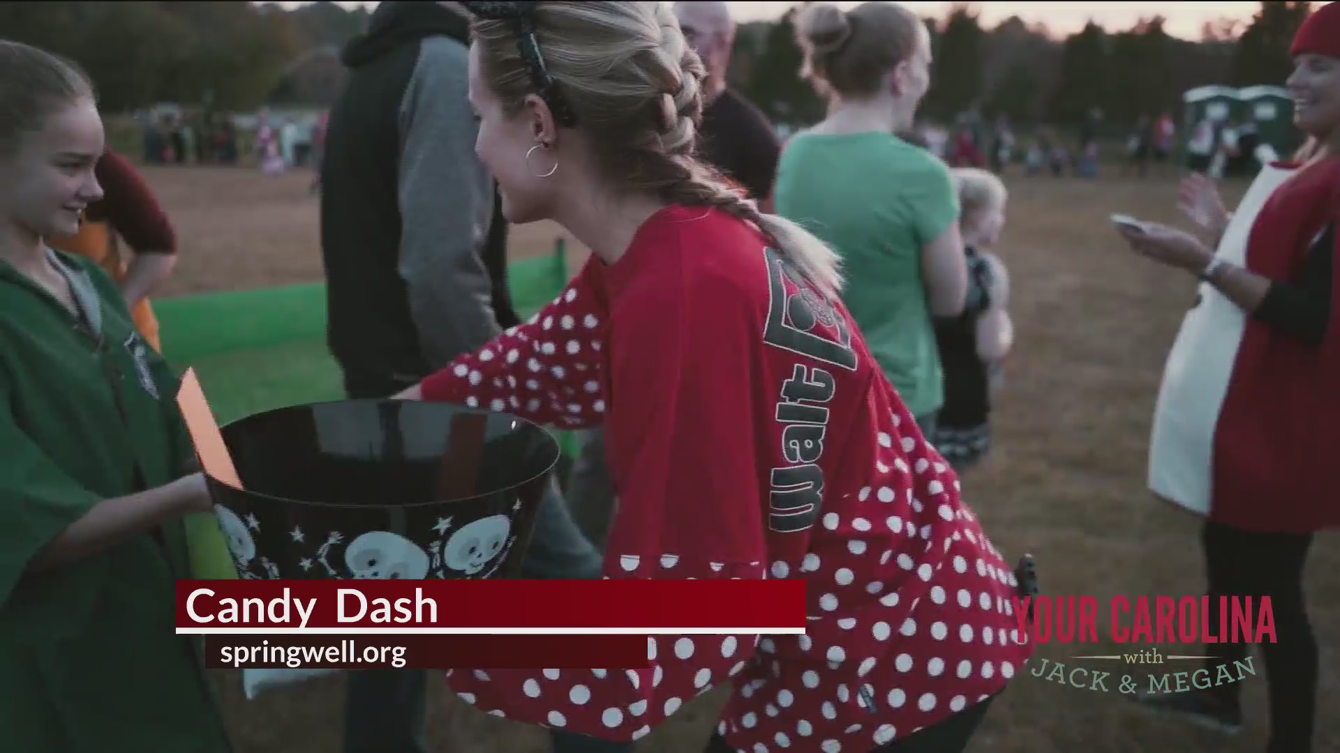 Candy Dash at Springwell Church