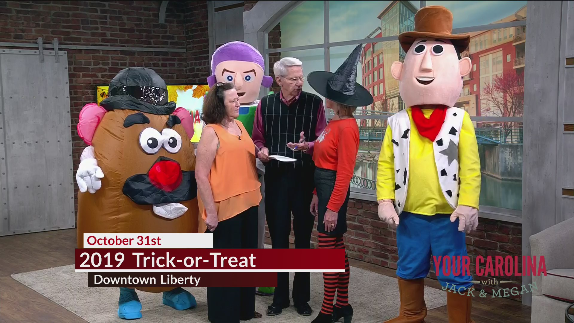 2019 Trick-or-Treat in Downtown Liberty