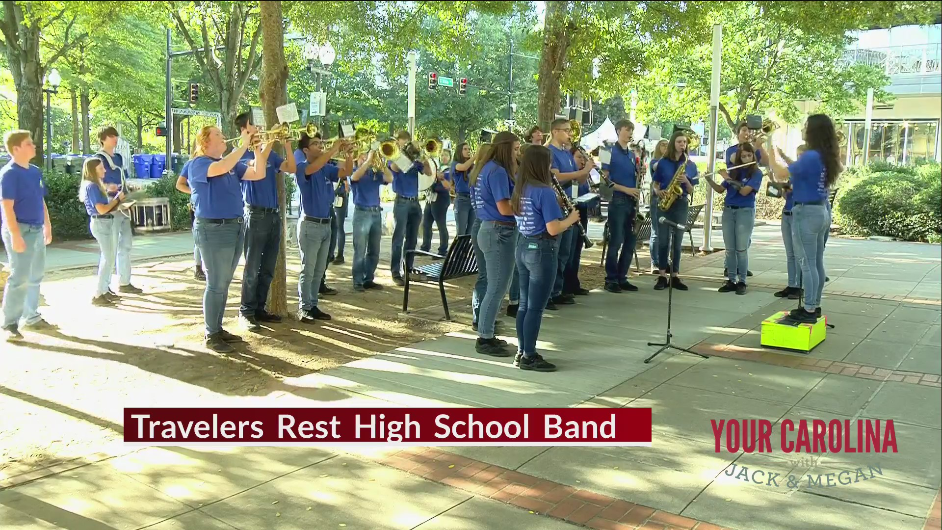High School Band Friday - The Travelers Rest High