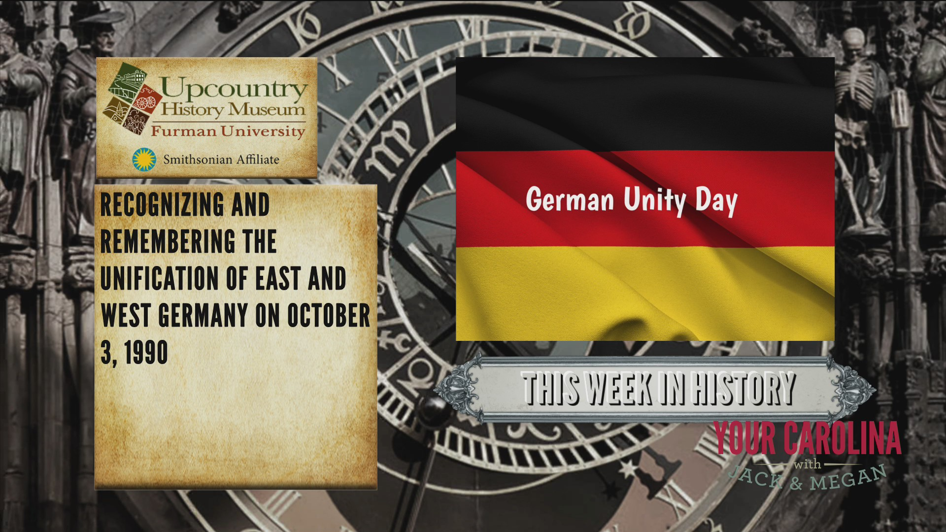 This Week In History - German Unity Day