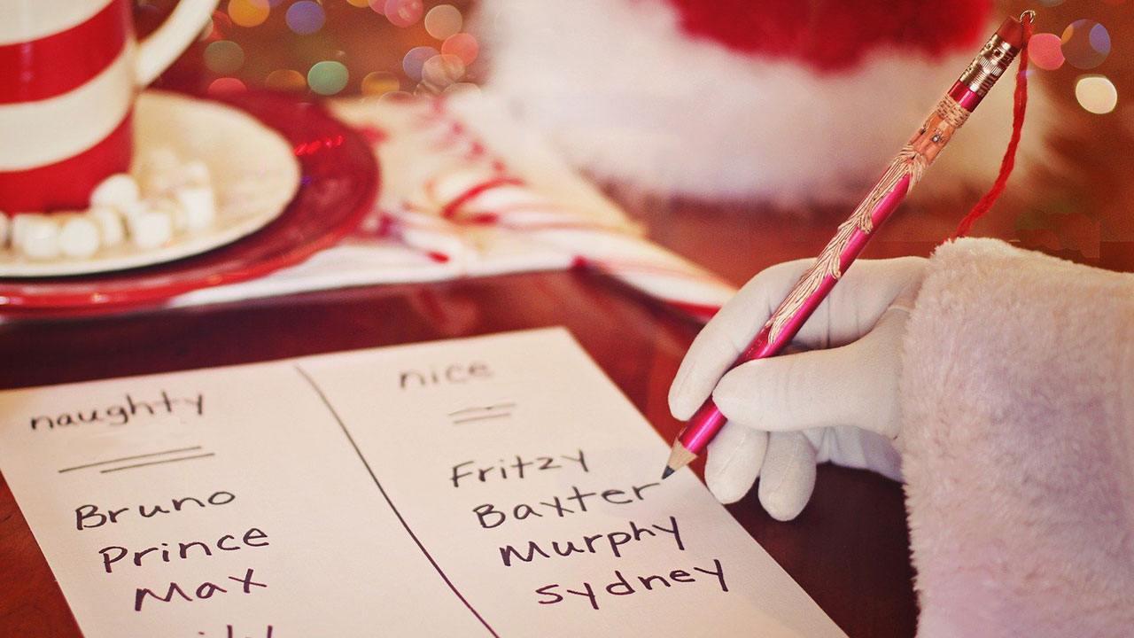 Write a letter to Santa Claus