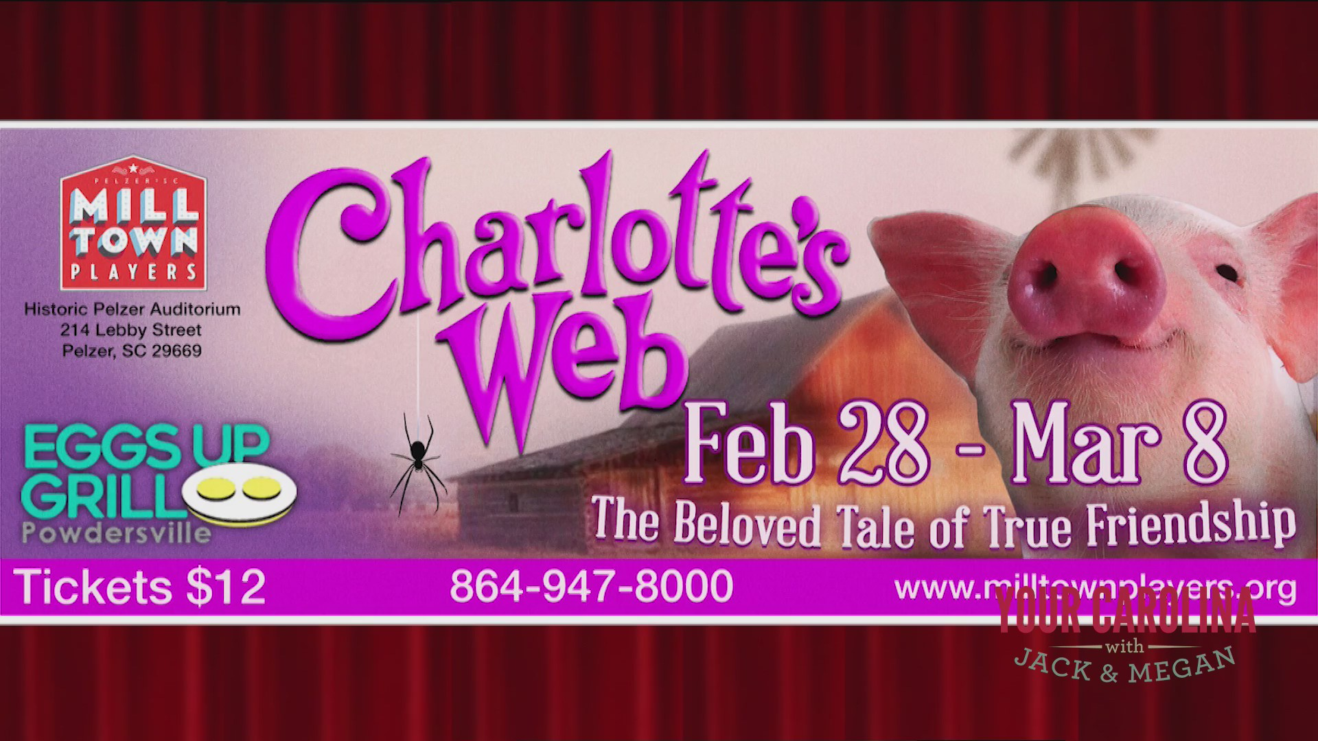 Milltown Players Presents Charlotte's Web