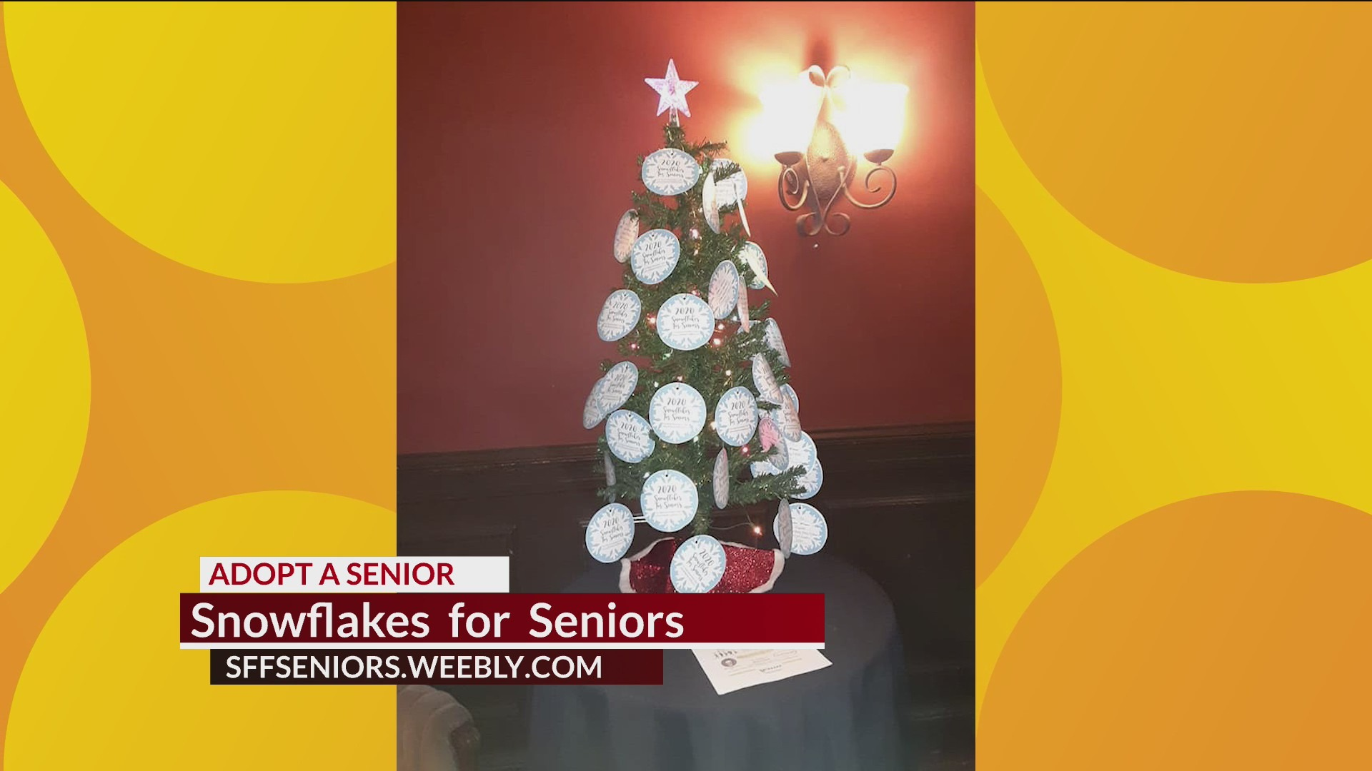 Snow Flakes for Seniors