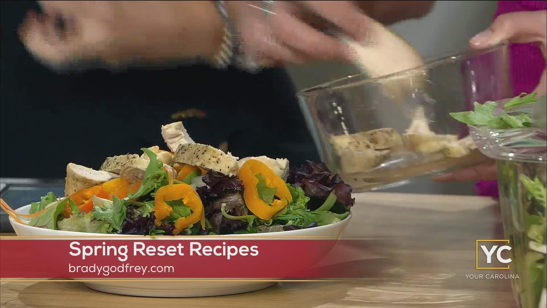 Spring Reset With A Great Salad