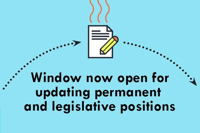 position proposal window is open