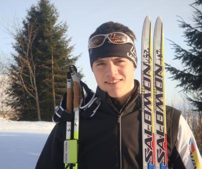 Andi Weishäupl Bayerischer Meister im Skilanglauf