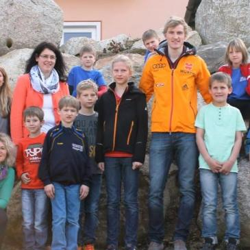 Treffen mit Olympiasieger und Skiflugweltmeister Severin Freund