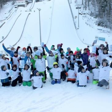 Skisprungspaß mit Olympiasieger Michael Uhrmann