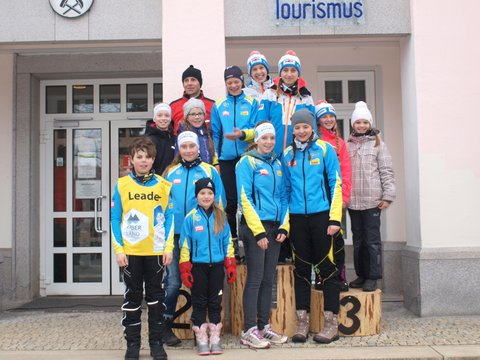 Erfolgreich bei der Tour de Bayerwald
