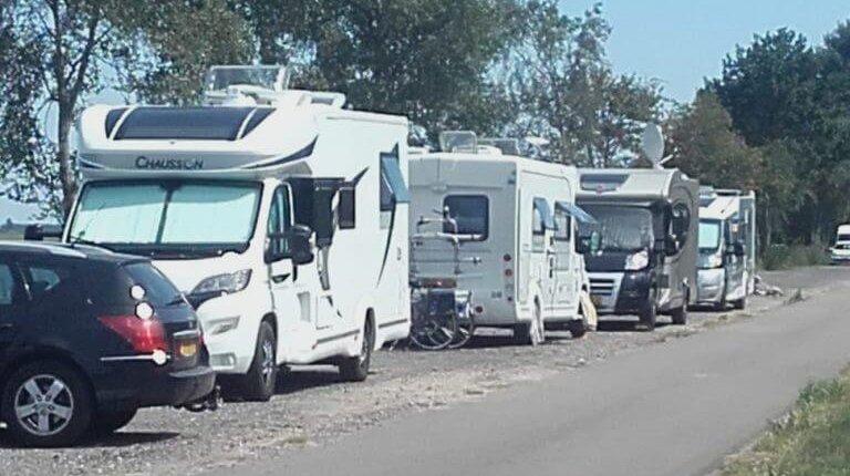 Prachtige camperplaatsen WSV St.Nic