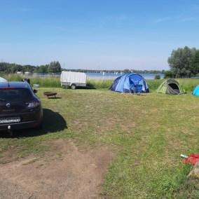 kamperen aan het water