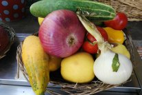 Growing Fruit and Vegetables in June